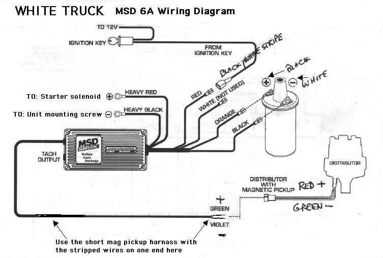 msd 6al wiring diagram hei solidfonts chevy ignition wiring diagram nilza net