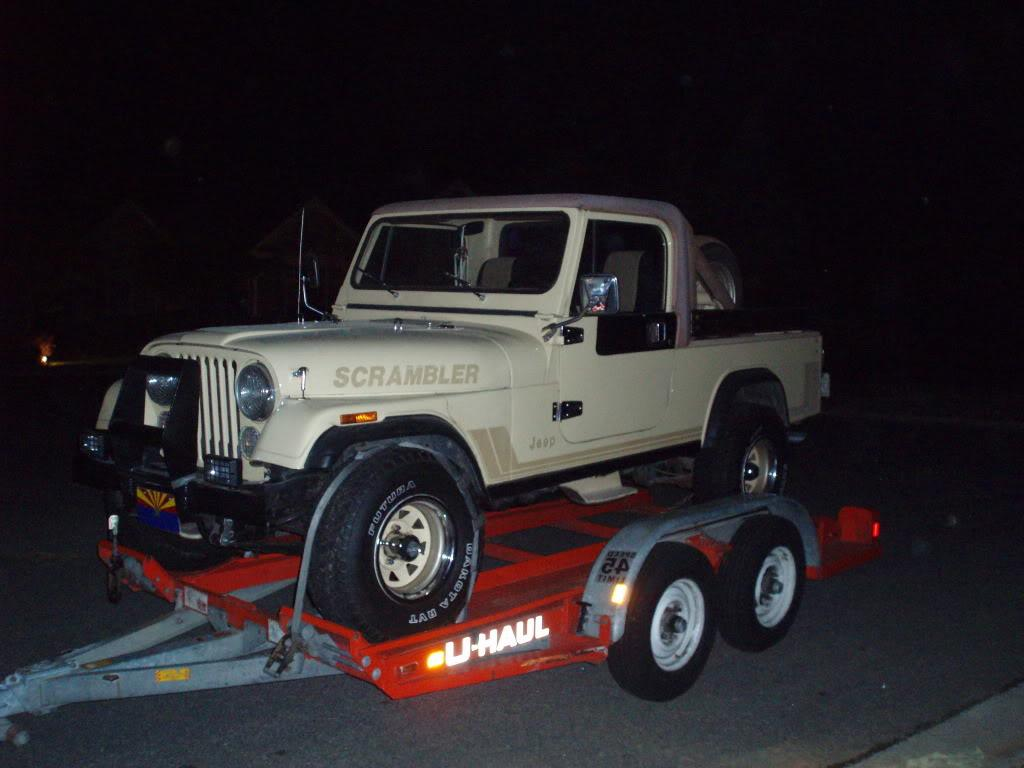 Post pics of what s hauling your jeep s archive jeep cj 8 scrambler forums