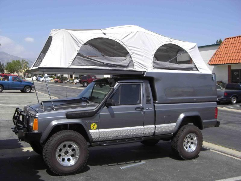 Jeep Comanche Camper Shell >> slide-in CJ-8 camper?